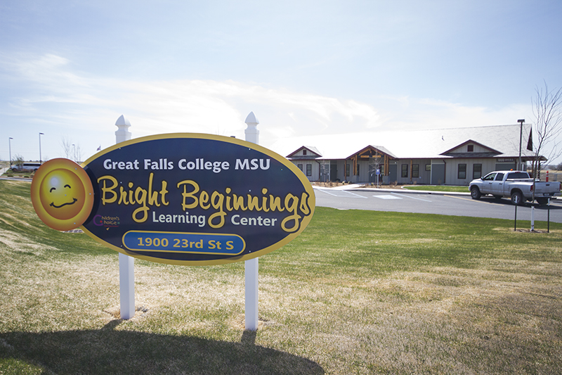 The Bright Beginnings Childhood Development Center.