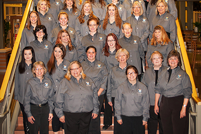 The 2014 Great Falls College Community Choir.