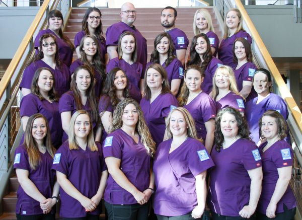 The 2016 Great Falls College MSU registered nursing class includes 25 graduating students. This is the first class of registered nurses to graduate from Great Falls College MSU. GFC MSU Photo
